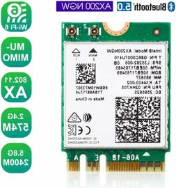 3000Mbps Wireless Adapter WiFi Card For Intel AX200NGW NGFF