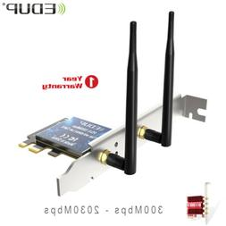 Bluetooth Card PCI-E Wifi Card For PC Desktop Ethernet 300-2