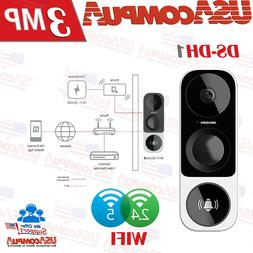 Hikvision DS-HD1 3 MP Outdoor Wi-Fi Smart Doorbell Camera 12