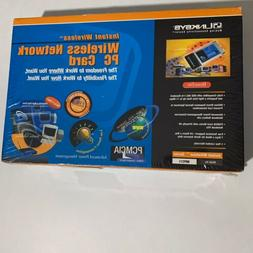 Linksys Instant Wireless Network Adapter PC Card NEW SEALED