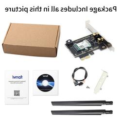 Internal ax200NGW WiFi 6 Adapter PCI PCIe Bluetooth 5.0 2.4/