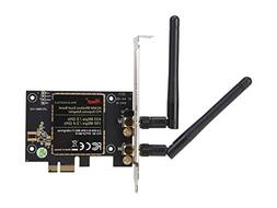 Rosewill N600 Wireless Dual Band PCI-Express Adapter, 2x Ext