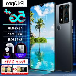 P43pro 6.7 inch 8g+256g 5G Dual SIM Card Octa Core Android 1