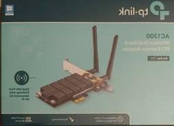 TP-Link AC1300 PCIe Wireless Wifi PCIe Card | 2.4G/5G Dual B