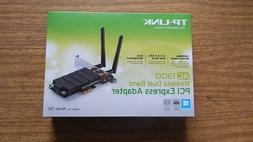 TP-Link Archer AC1300 WiFi Card PCIe Adapter with Heatsink T