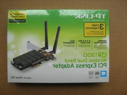 TP-Link Archer T6E Adapter AC1300 Wi-Fi Dual Band 2.4/5GHz W