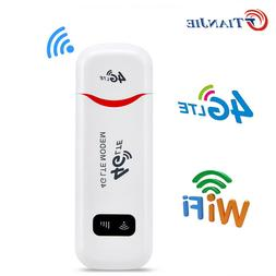 Unlocked 4G LTE WIFI Wireless Router USB Dongle Mobile Broad