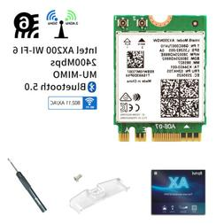 Intel WiFi 6 AX200 Wireless Network Card 802.11ax MU-MIMO 16
