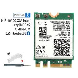 Wi-Fi 6 AX200 ngff card Dual Band Wifi 802.11ax Wireless MU-