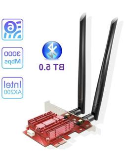 EDUP WiFi 6 Card Bluetooth 5.0 with Heat Sink, PCIe Network