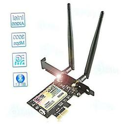 WiFi 6 Card for PC | Wireless PCIe WiFi Card | Up to 3000Mbp