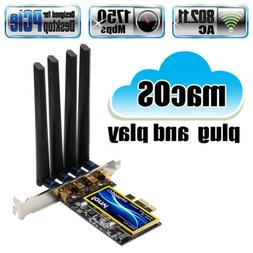 PCIe BCM94360CD Hackintosh WiFi Adapter 1750Mbps Bluetooth 4